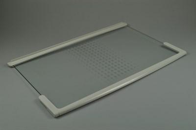clayette en verre gorenje r frig rateur cong lateur 20 mm 3 mm x 523 mm 498 mm x 338 mm. Black Bedroom Furniture Sets. Home Design Ideas