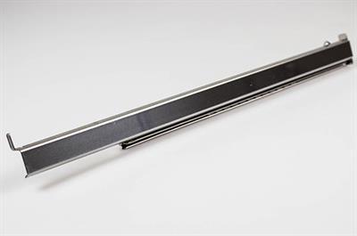 rail t lescopique gram cuisini re four 28 mm x 15 mm x 380 mm droit. Black Bedroom Furniture Sets. Home Design Ideas